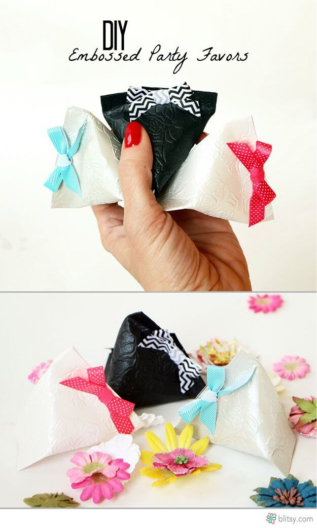 easy wedding party favors
