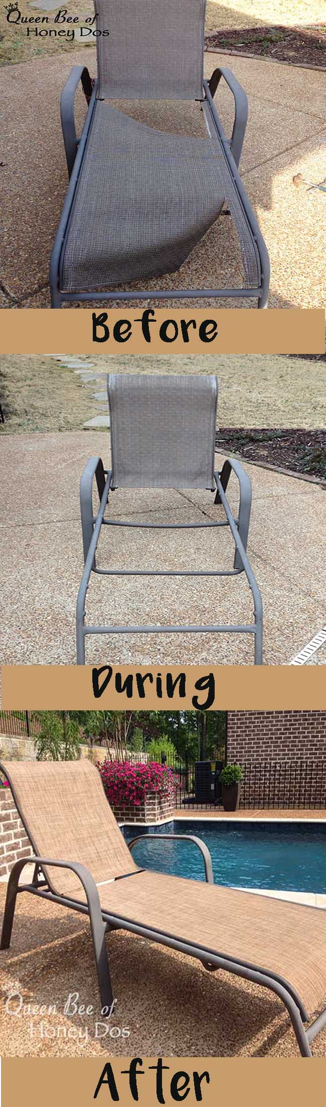 How to Repair Sling Chairs