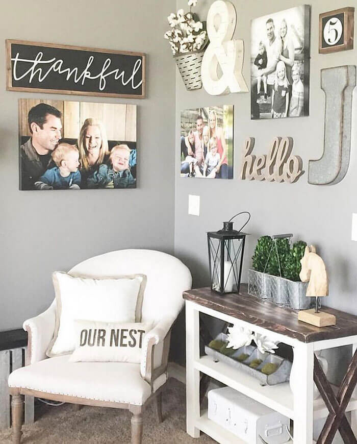 Living Room Wall Decor. Pinterest.com Good Ideas