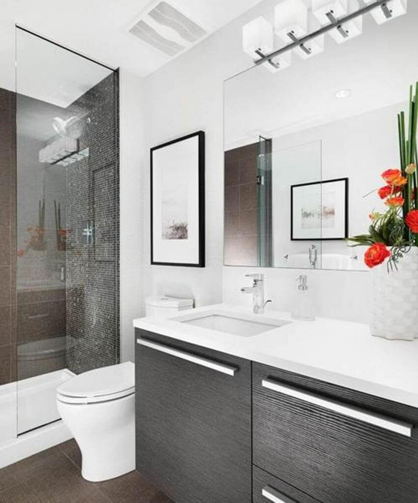 Small Bathroom Remodel Ideas On A Budget White Floating
